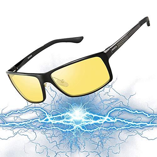 SOXICK Night Vision Glasses for Driving - Adjustable Polarized HD Driver Glasses For Men Women