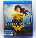 DVD : Wonder Woman 2D + 3D (Region Free Blu-Ray) (Hong Kong Version / Chinese subtitled) 神奇女俠