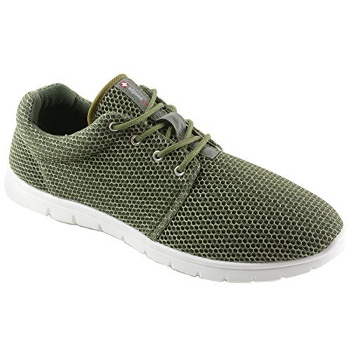 Alpine Swiss Kilian Fashion Sneakers Lightweight Trainers Lace up Casual...