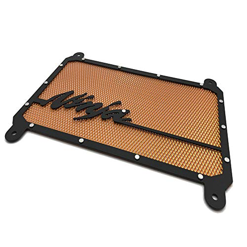 CHUDAN NINJA400 Water cooler radiator Motorcycle accessories stainless steel radiator cover Radiator Grille Guard Cover Protection,Gold: Amazon.co.uk: Sports & Outdoors