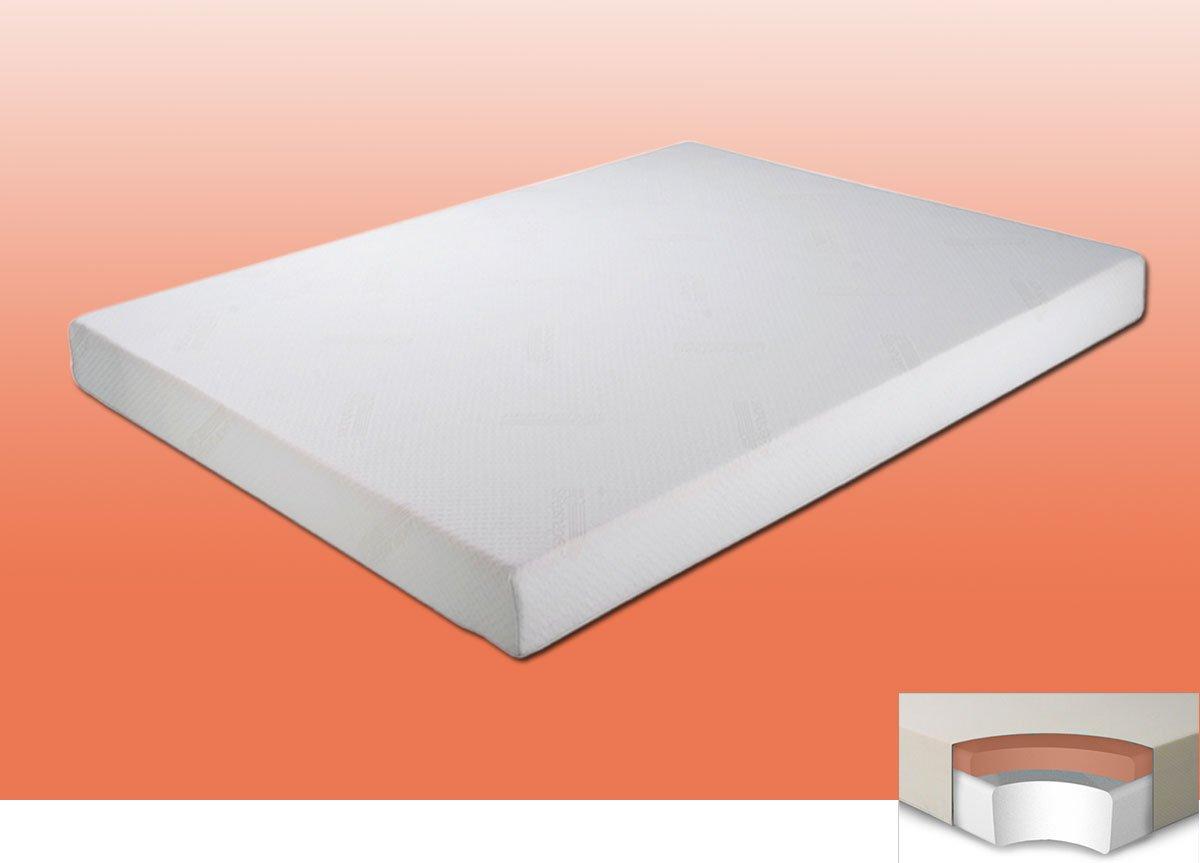 Sleep Classic 250 colchón de espuma con efecto memoria, poliuretano, Blanco, 4ft 0 Small Double: Amazon.es: Hogar