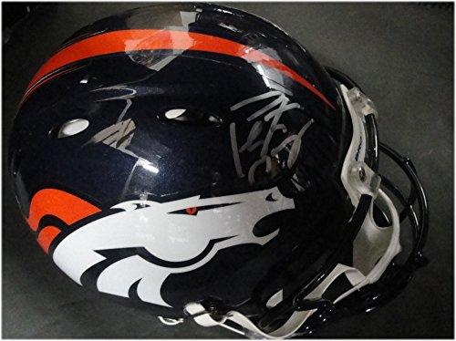 Peyton Manning Hand Signed - Peyton Manning Hand Signed Auto FS Revolution Helmet Authentic Helmet Fanatics