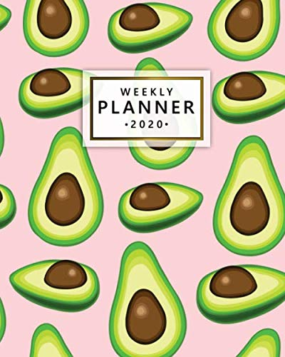 2020 Weekly Planner: Monthly Weekly Daily Views with To-Do's, Funny Holidays & Inspirational Quotes, Vision Boards…