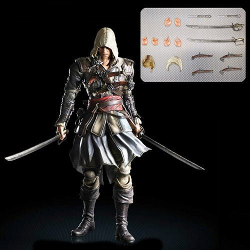 Square Enix Play Arts Kai Edward Kenway Assassin's Creed Action Figure by Square Enix