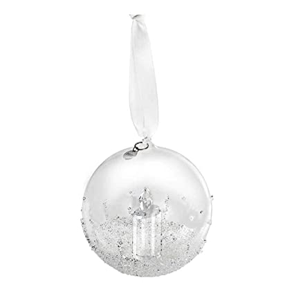 b35d12bd510b Amazon.com  Swarovski Christmas Ball Ornament Annual Edition 2017  Home    Kitchen