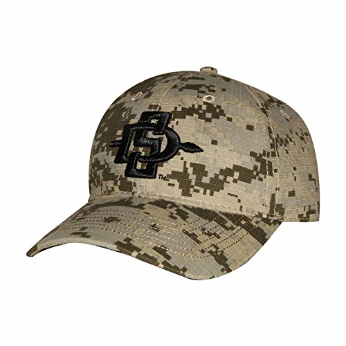 NCAA San Diego State Aztecs Digital Camo Cap, Adjustable Size, Digital Grey/Sand