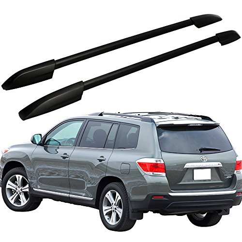 Roof Rack Fits 2008-2013 Toyota Highlander | Factory Style Black