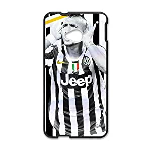 Arturo Vidal HTC One M7 Cell Phone Case Black TPU Phone Case SV_060868