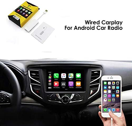 USB Car Play Dongle Auto White Mini Smartphone Link Receiver Adapter Auto Navigation Multimedia Player for Smartphone Mirroring