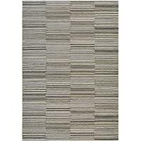 Couristan Cape Hyannis Runner Rug, 23 x 119, Black/Gold