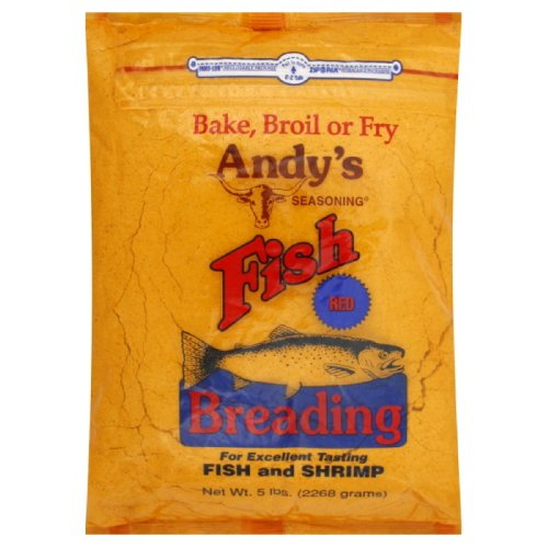 Andy's Red Fish Breading, 5-pounds by Andy's