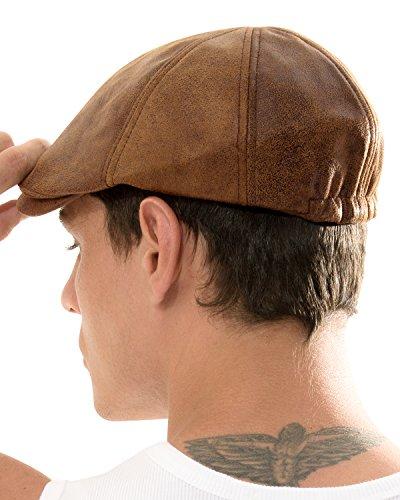 dec68ef11c8a9 ililily New Men¡¯s Flat Cap Vintage Cabbie Hat Gatsby Ivy Caps Irish Hunting