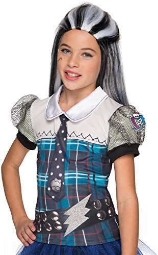 Rubie's Costume Monster High Frankie Stein Photo Real Costume Top Costume, -
