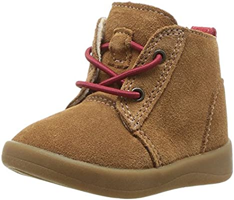 UGG Baby T Kristjan Chukka Boot, Chestnut, 9 M US Toddler