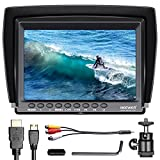 Neewer F100 7-inch 1280x800 IPS Screen Camera Field Monitor support 4k input HDMI Video for DSLR Mirrorless Camera SONY A7S II A6500 Panasonic GH5 Canon 5D Mark IV and More (Battery not Included)