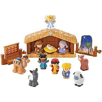 Amazon.com: Little People Fisher Price Nativity Manger ...
