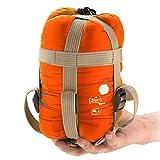 Soomloom 軽量 封筒型 シュラフ 寝袋 キャンプ アウトドア 最低使用温度15度 ・同モデルの同サイズであれば、連結可能