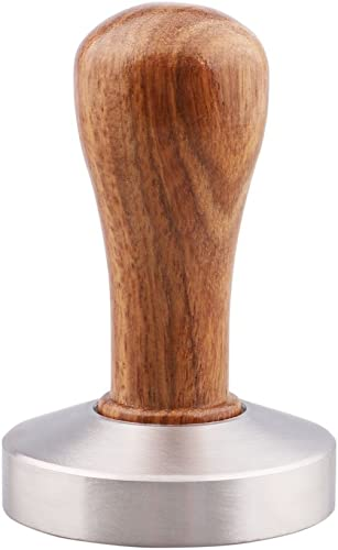 Omgogo 51mm Rosewood/Stainless Steel Coffee Bean Press