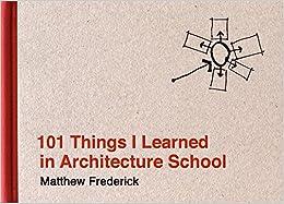 Como Descargar Libros Gratis 101 Things I Learned In Architecture School Epub Ingles