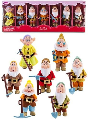 Disney Store Snow White's Seven Dwarfs Doll Gift Set, Baby & Kids Zone