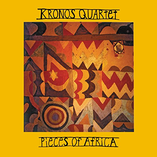 Cover of PIECES OF AFRICA (Classical Chamber & New Music Collections - Kronos Quartet)