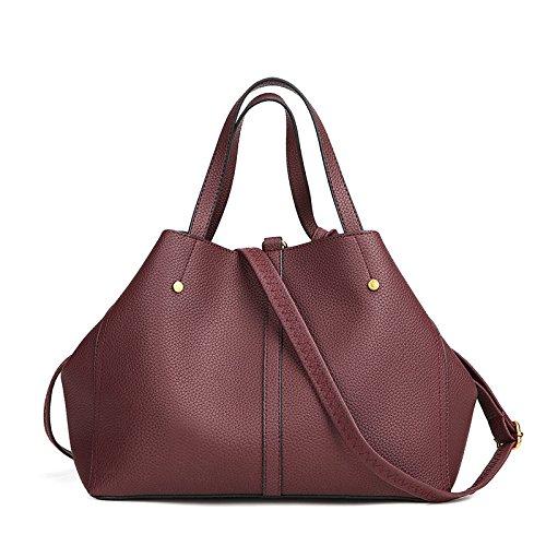 à Dumplings Bag Sac Femme Bandoulière Sac Messenger BAILIANG Bandoulière Mode Reddishbrown à nYW4qqv8