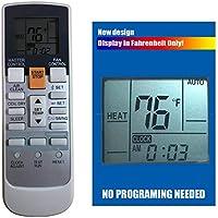 Replacement for Fujitsu Air Conditioner Remote Control Ar-Rah2u Ar-Rah1u Ar-Rae2u Ar-Rae1u Ar-Ry3 Ar-Ry4 Ar-Ry5 Ar-Ry6 Ar-Ry7 Ar-Ry10 Ar-Ry11 Ar-Ry12 Ar-Ry14 Ar-Ry15 Ar-Ry16 Ar-Ry17 Ar-Ry19 ... ...