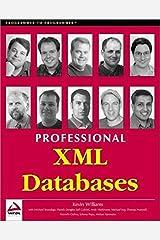 Professional XML Databases Paperback