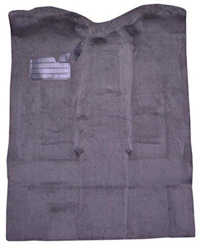 1995 to 1999 Chevrolet Tahoe Carpet Custom Molded Replacement Kit, Passenger Area, 4 Door (801-Black Plush Cut (Chevrolet Tahoe Carpet Kit)
