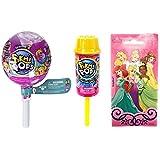 Pikmi Pop Surprise Pushmi Up and Season 2 Medium Surprise Pack Bundle with (Bonus Disney Princess Sticker!)