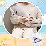 LALA HOME Large Great White Shark Stuffed Animal