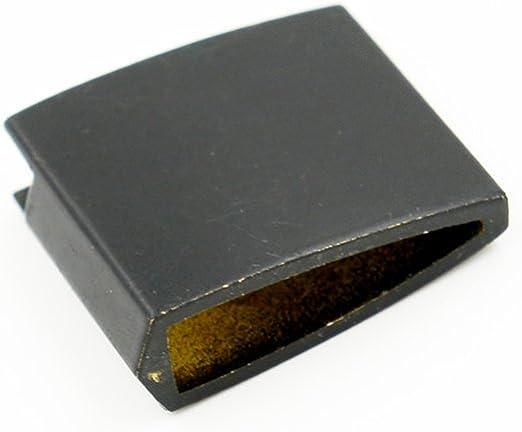 Alloy Electroplating Black Habaki For Japanese Samurai Katana Wakizashi Tanto
