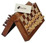 SouvNear Fine Handmade Rosewood Chess Set - Classic 10