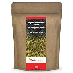 Aktiv Organic Hemp Protein Powder 500g | Raw, Cert...