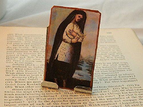 Saint Kateri Portable Altar Lily of the Mohawks Meditation Altar Prayer Devotion Desk Accessory by Sarah Collins Studio