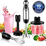 BSTY 5-in-1 Hand Blenders Set 15-Speeds Powerful...