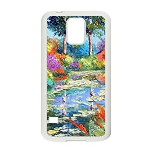 Countryside pond scenery Phone Case for Samsung Galaxy S5