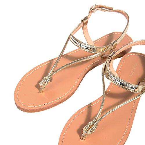 Parfois Sandales Special Price Doré Femmes nYYxFrq7