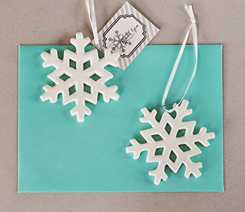 75 Porcelain Snowflake Ornaments by Eventblossom (Image #1)