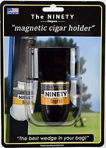 The Ninety Degree Wedge - The Ultimate Premium & Versatile, Magnetic Cigar Holder - Black