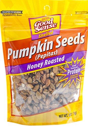 Good Sense Honey Roasted Pepitas Pumpkin Seeds, 6 Ounce (Pumpkin Seeds Roasting)
