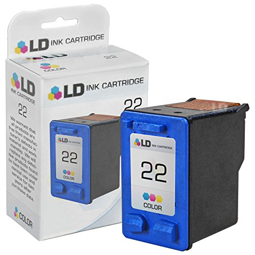 LD Remanufactured Replacement Ink Cartridge for Hewlett Packard C9352AN (HP 22) Tri-Color