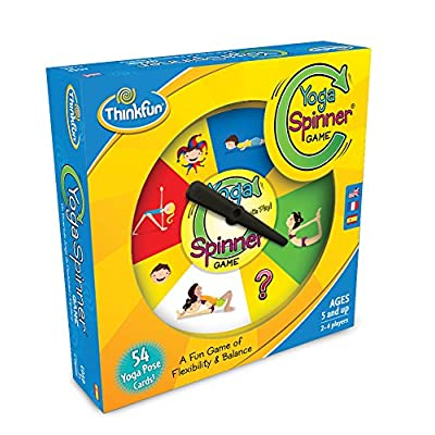 ThinkFun Yoga Spinner Yoga Game for Kids Age 5 and Up - Award Winning Game for Yoga Loving Parents and their Kids: Toys & Games