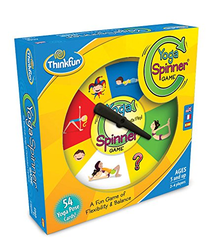 Think Fun Yoga Spinner Yoga Game for Kids Age 5 and Up - Award Winning Game for Yoga Loving Parents and their Kids by Think Fun