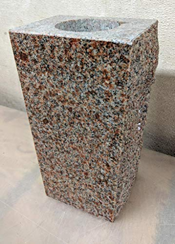 Granite Headstone Memorial Vase Tapered 5
