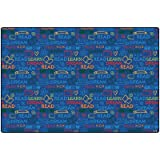 Read to Dream Kids Rug Rug Size: 4' x 6'