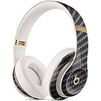 Carbon Fiber Texture DesignSkinz Full-Body Skin Kit for the Beats by Dre Studio Remastered Wireless Headphones / Ultra-Thin / Matte Finished / Protective Skin Wrap