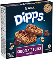 QUAKER Dipps Chocolate Fudge Granola Bars (5 Bars x 30 g), 150 g (Pack of 12)