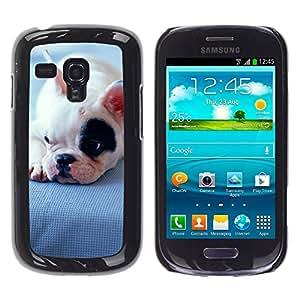 Vortex Accessory Carcasa Funda PARA SAMSUNG GALAXY S3 MINI i8190 ( NOT FOR S3 ) For - Boston Terrier Bull French Bulldog