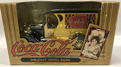 Coca-Cola Vintage Red Bottle Truck Coin Bank